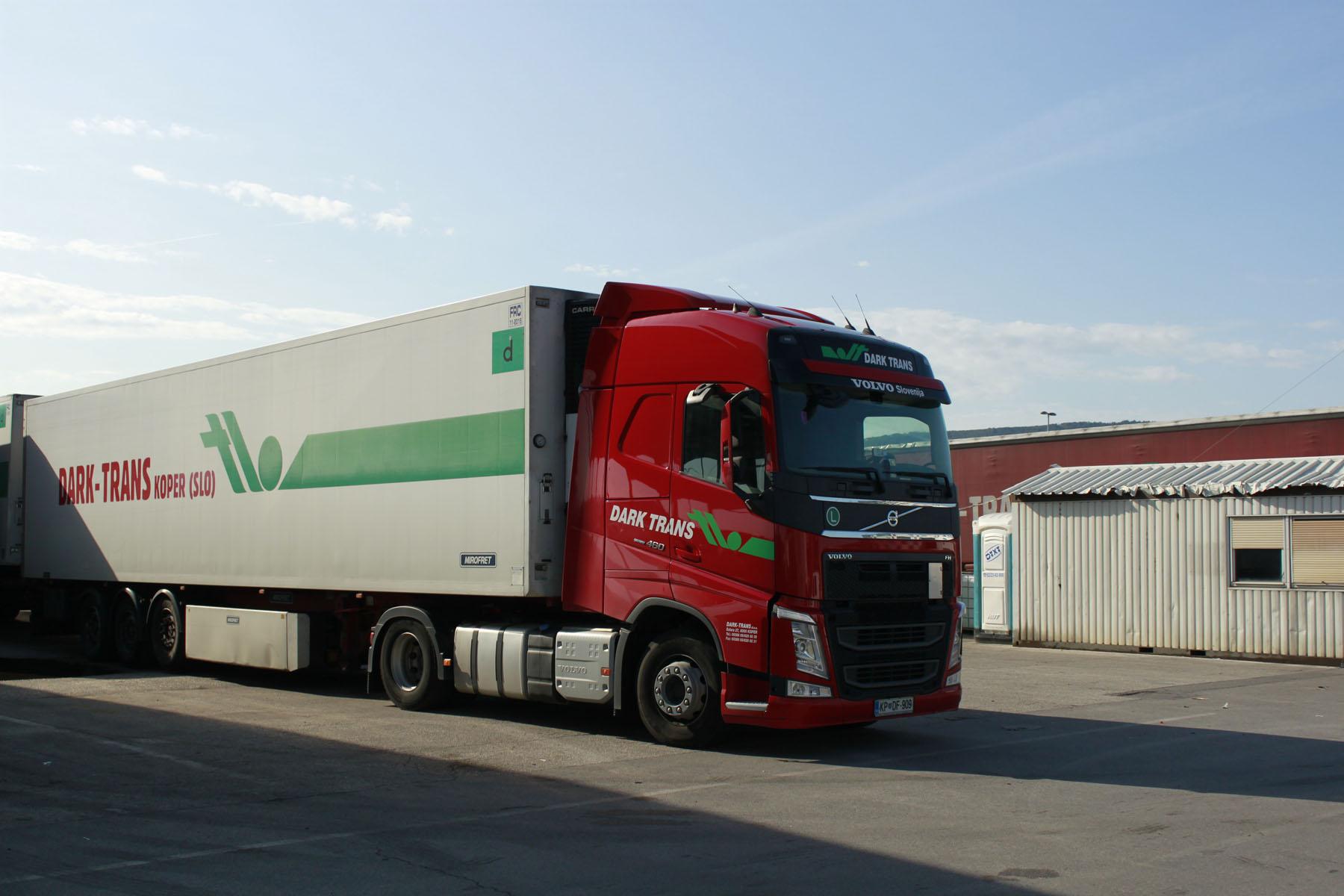 transport prevoz blaga Španija