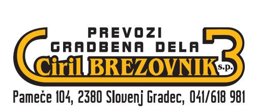 PREVOZI, GRADBENA DELA CIRIL BREZOVNIK S.P.