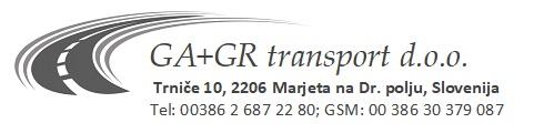 GA+GR transport d.o.o.