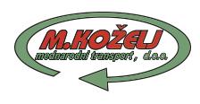 M. KOŽELJ, mednarodni transport, d.o.o.