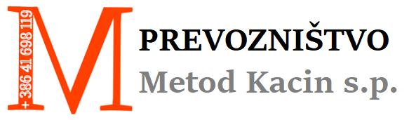 PREVOZNIŠTVO METOD KACIN S.P.