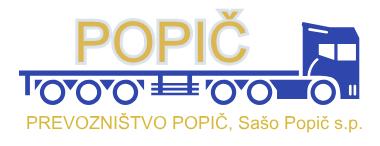 PREVOZNIŠTVO POPIČ, Sašo Popič s.p.