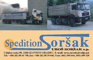 SPEDITION SORŠAK, UROŠ SORŠAK S.P.