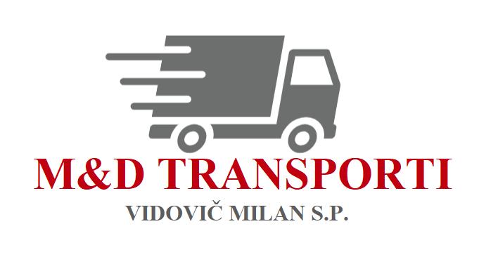 M&D TRANSPORTI, VIDOVIČ MILAN S.P.